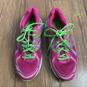 Asics GT-1000 Women's Sneakers Size 6.5 Pink Green